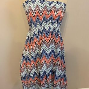 NWT rue21 strapless dress size small